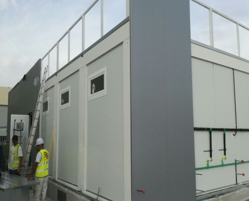 Prefabricated Building for Airbus