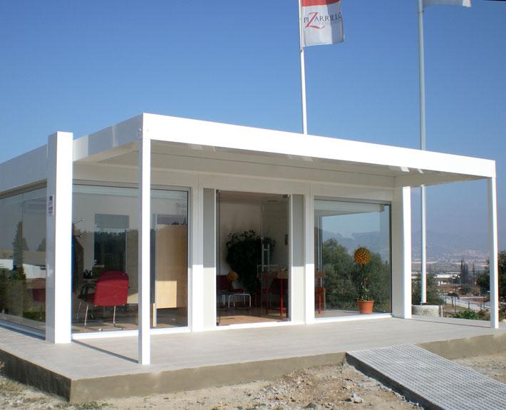 Edificios prefabricados para m ltiples aplicaciones for Construccion de oficinas modulares