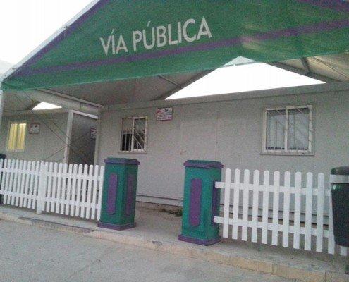 Alquiler modulos Feria de Malaga