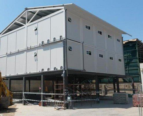 Conjunto modular para vestuarios en Madrid