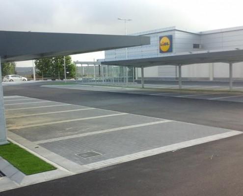 EUROPA PREFABRI - Marquesinas parking Valencia