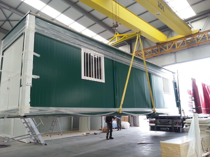 Modulo prefabricado centro de control plantas solares