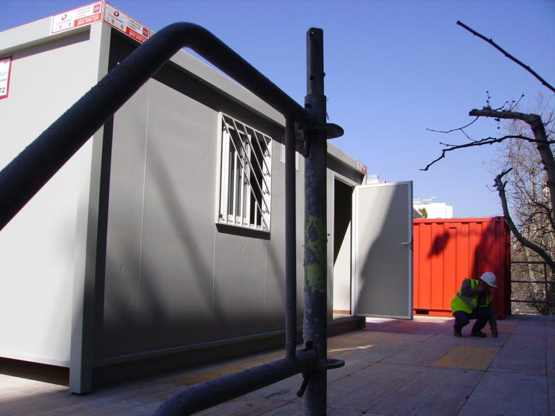 Alquiler casetas de obra Madrid