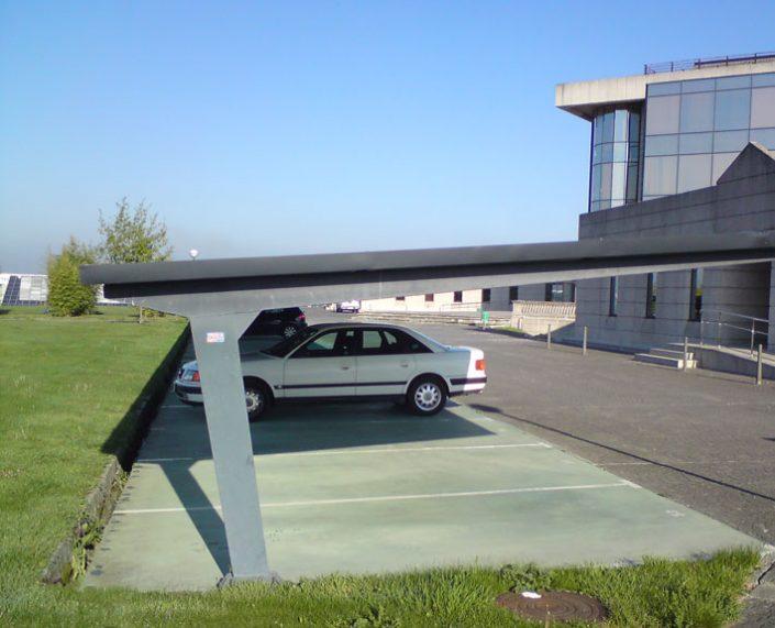 marquesina para parking tipo b europa prefabri