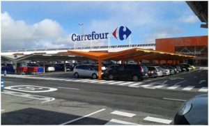 Parking canopies for large surfaces