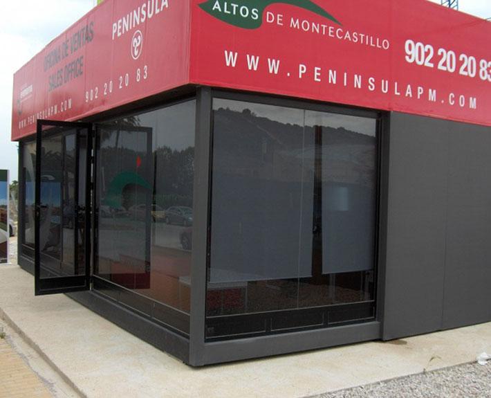 EUROPA PREFABRI- Oficina modular dedicada a la promoción inmobiliaria