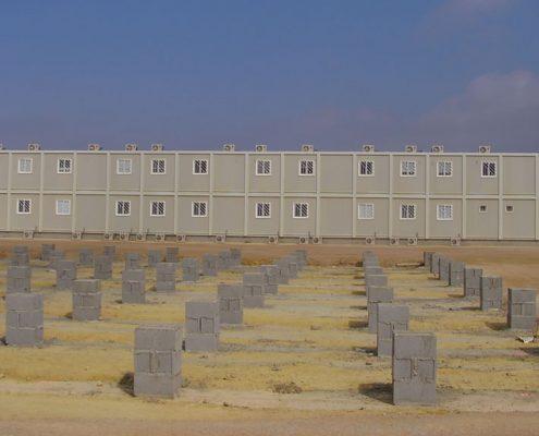 EUROPA PREFABRI - Campamento modular de gran tamaño