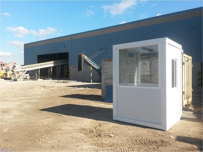 cabinas de vigilancia para plantas de reciclaje en un punto limpio 4
