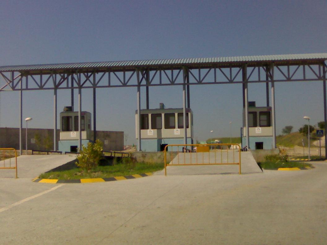 Cabinas de vigilancia para plantas de reciclaje