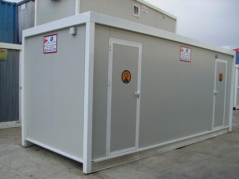 Casetas prefabricadas en alquiler - modelo SN6000