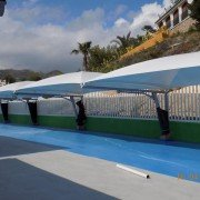 Carport textile pour parking