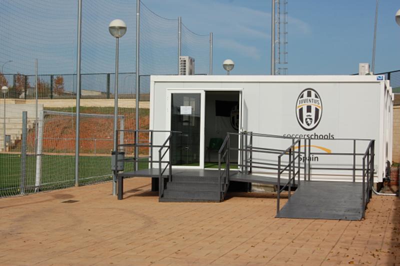aulas prefabricadas JSS - oficina modular compuesta de modulos prefabricados