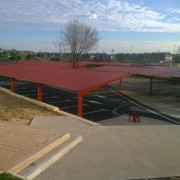 marquesinas de parking para instituto carlos iii
