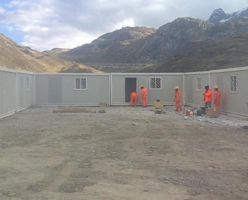 Europa Prefabri - Campamentos modulares para minería