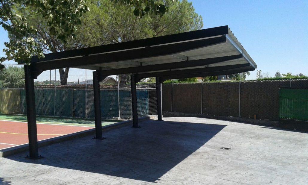 marquesinas de aparcamiento y techos de parking para coches. Black Bedroom Furniture Sets. Home Design Ideas