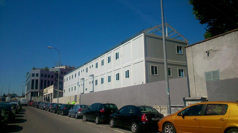 Edificio modular de oficinas en Madrid