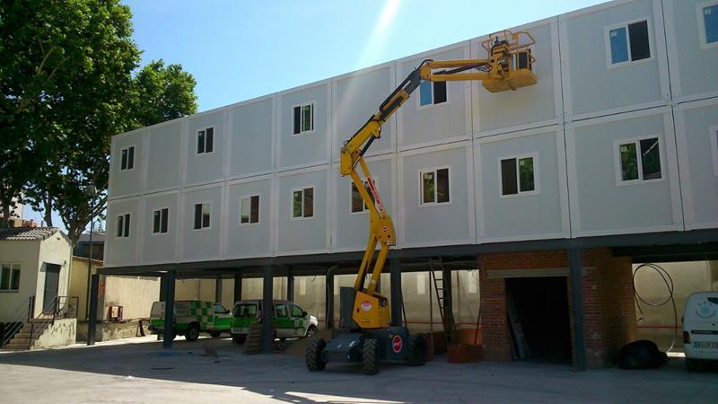 Oficinas modulares prefabricadas en madrid prefabri for Oficinas modulares