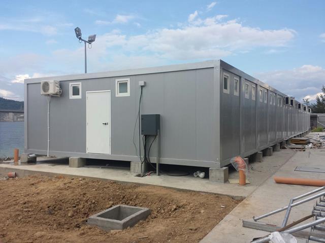 vestuarios prefabricados modulares para base naval en malasia realizados a partir de modulos prefabricados