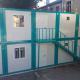Manufacture and assembly of a site office made by portacabins assembled