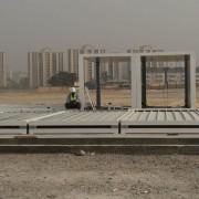 campamento modular prefabricado en Nigeria