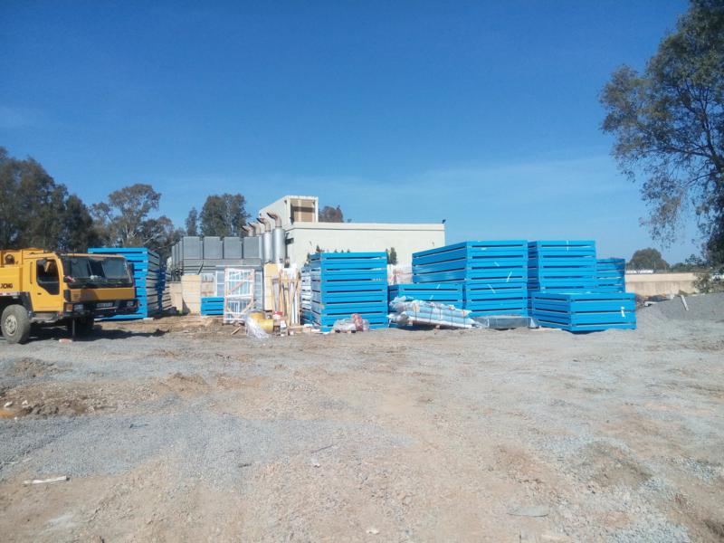 EUROPA PREFABRI - Construcciones modulares para campamentos temporales