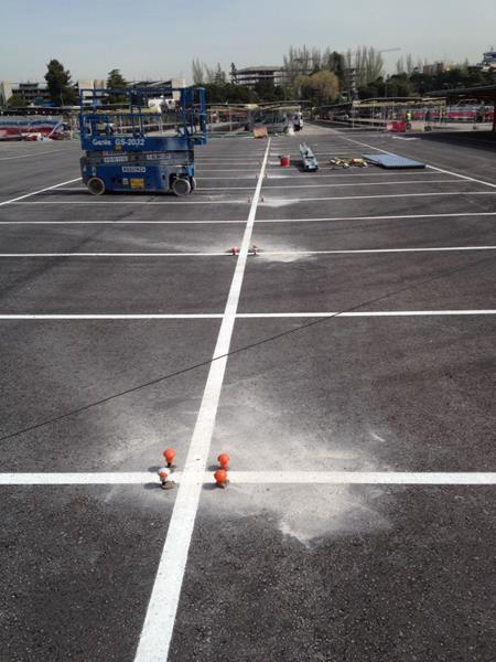Cubiertas para aparcamientos Madrid