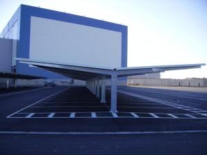 Marquesinas de aparcamiento para coches