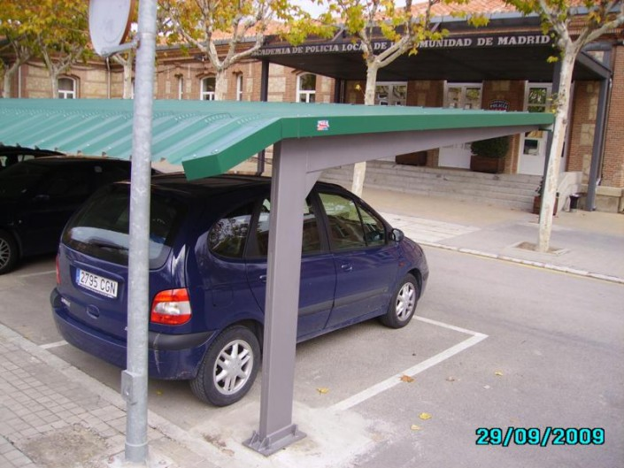 Europa Prefabri Is A Leading Producer Of Car Park Shelters