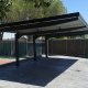 Parking canopies for detached houses