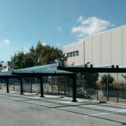 Marquesinas de parking solar para Tamesol en Gerona 04