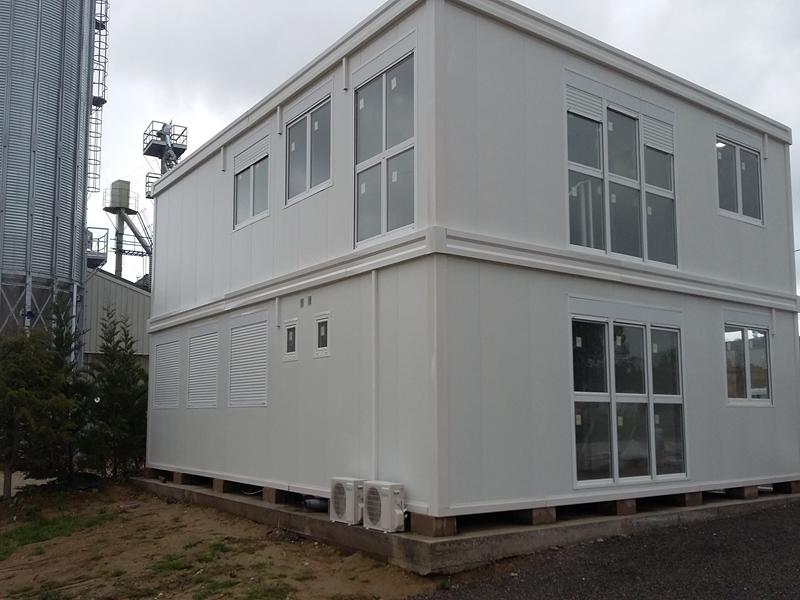 B timent pr fabriqu de bureaux modulaires toulouse et for Construccion de oficinas modulares