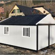 Entrepôt modulaire préfabriqué de ski