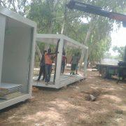 Base de vie et campement de travailleurs au Sénégal