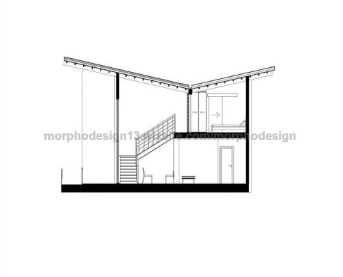 casa prefabricada modular beach plano seccion