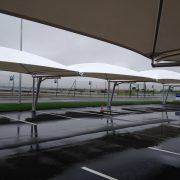 textile parking canopies