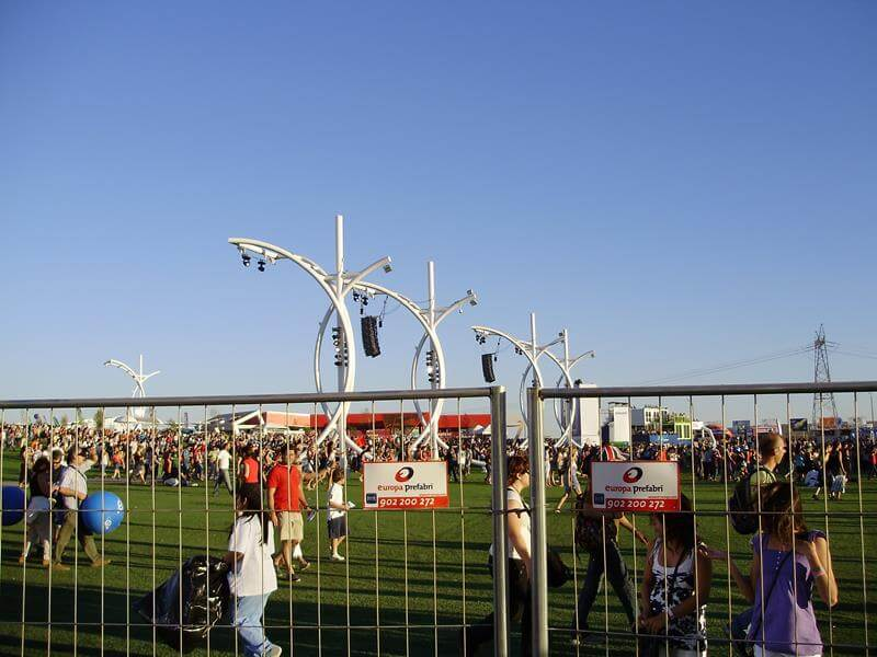 festivales de musica y conciertos prefabri