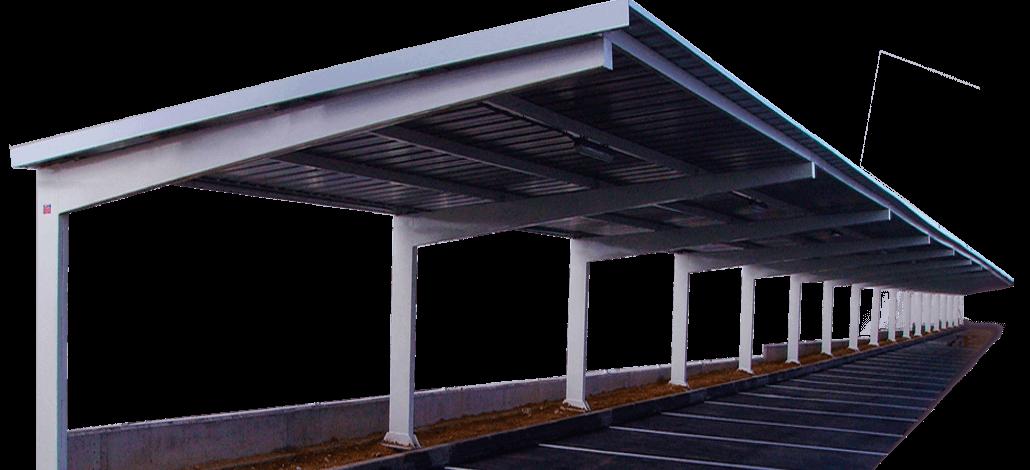 Europa prefabri alquiler y venta de construcciones modulares for Cubiertas para garajes