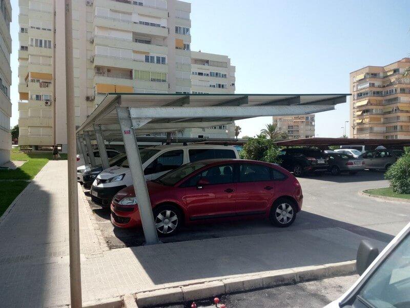 Techados para coches precios marquesinas de with techados for Techados para coches