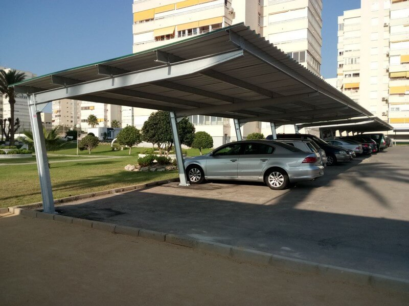 marquesina aparcamiento