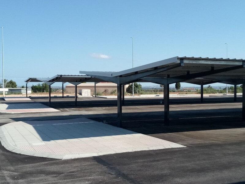 marquesinas de aparcamiento para la estacion del ave de elche 03