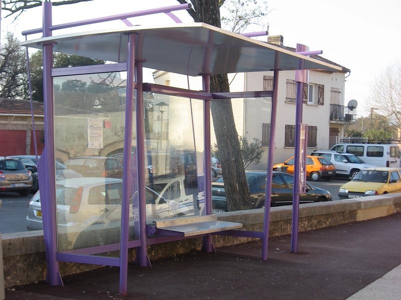 marquesinas de autobus modelo swing