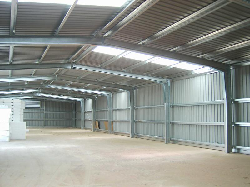 Prefabricated warehouses