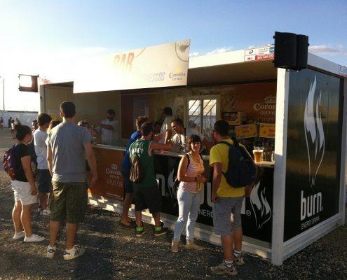 rock in rio - alquiler de modulos de kioscos de comida para evenots y espectaculos