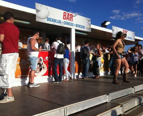 rock in rio - alquiler de kioscos de comida para eventos