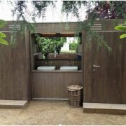 luxurious portable toilets