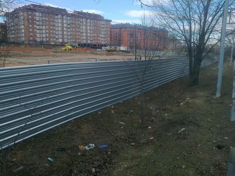 Vendo vallas de obra finest valla plstico peatonal x cm - Valla de obra ...