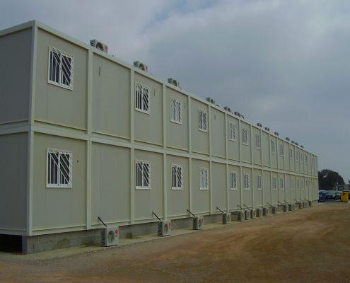 EUROPA PREFABRI- Creación de un campamento modular