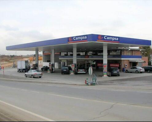 marquesinas gasolinera
