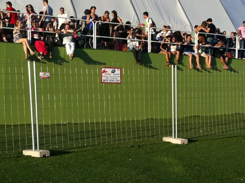 Alquiler vallas para eventos