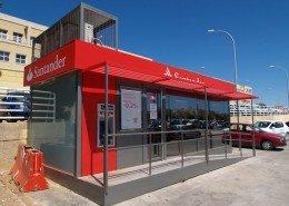 EUROPA PREFABRI- Oficina prefabricad de atención bancaria